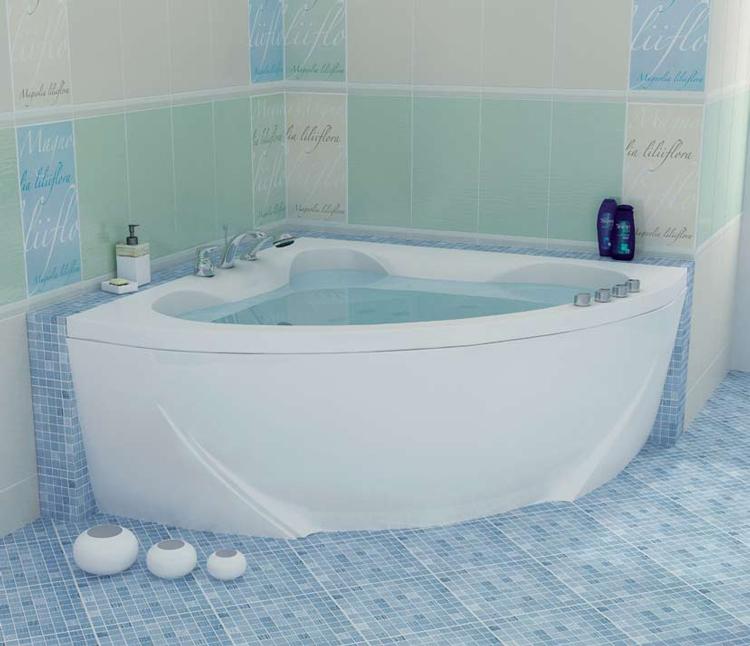 угловые акриловые ванны фото и цены